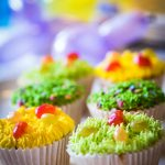 disco cup cakes